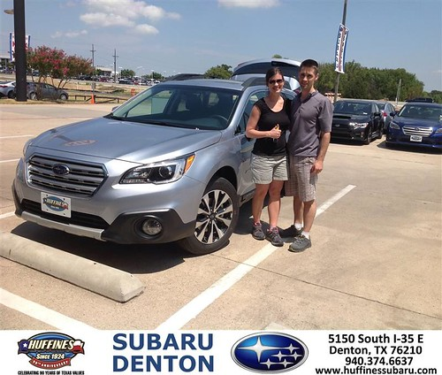 Congratulations Mark On Your Subaru Outback From Mike Br