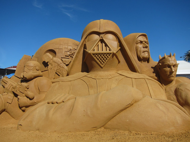 Star Wars The Galactic Empire Sand Sculpture