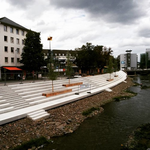 Seems like #Siegen is getting a beach promenade! ;-) | by queergeeks
