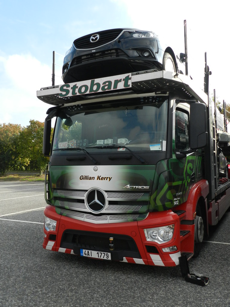 4ai1779 1412 stobart automotive mercedes car transporter 39 flickr. Black Bedroom Furniture Sets. Home Design Ideas