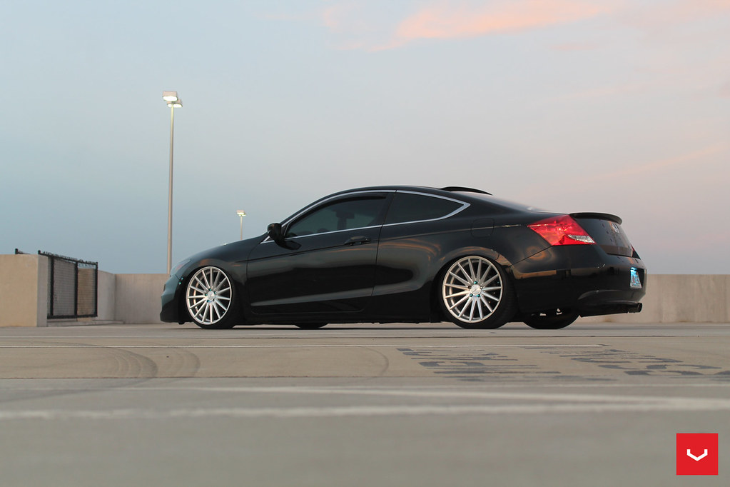 Honda Accord Vfs 2 Silver Polished 169 Vossen Wheels