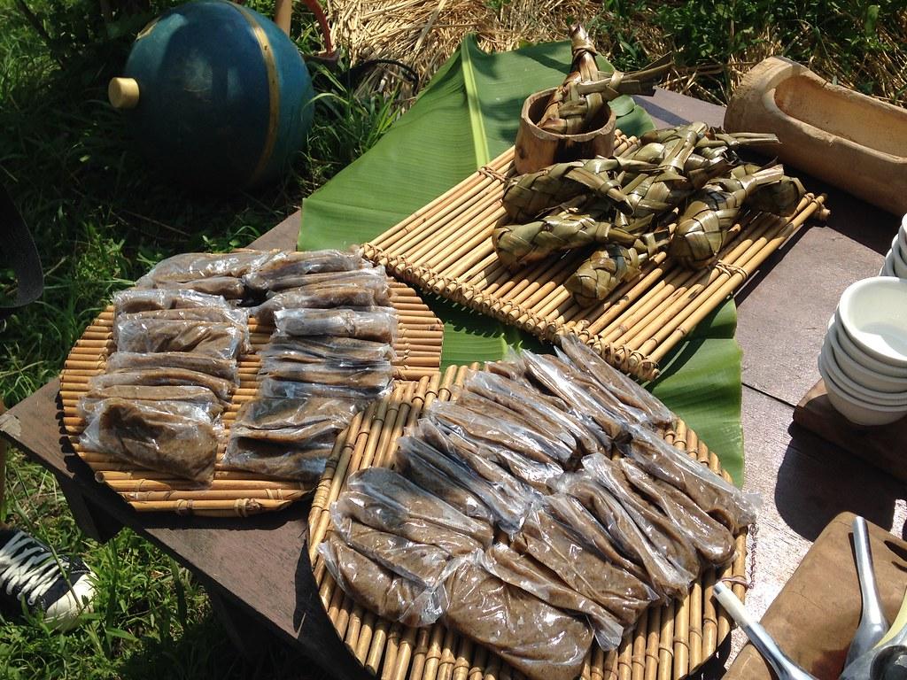 部落種回噶瑪蘭族傳統食物,環境和身體都健康。攝影:廖靜蕙