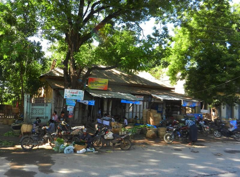 Магазины Мьянмы