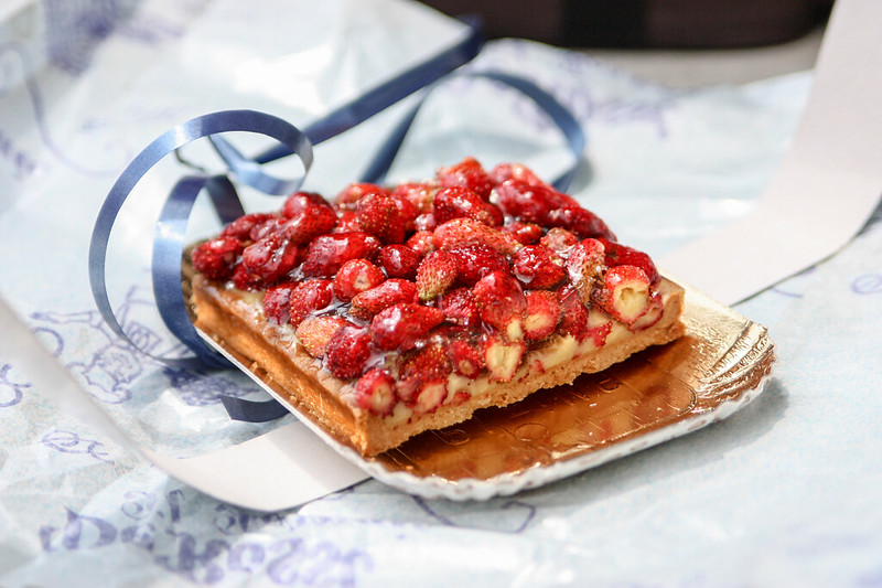 wild strawberry tarte in verona