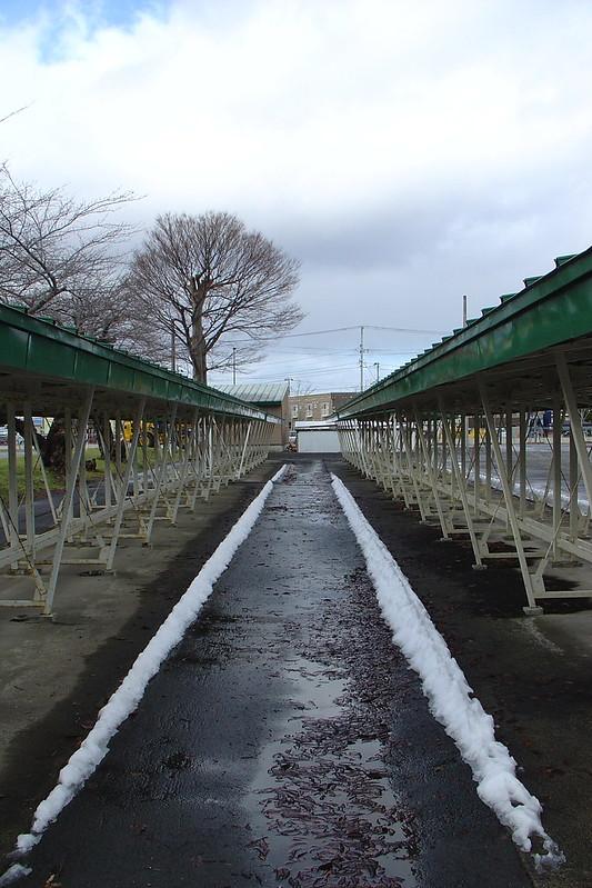 Snow curbs