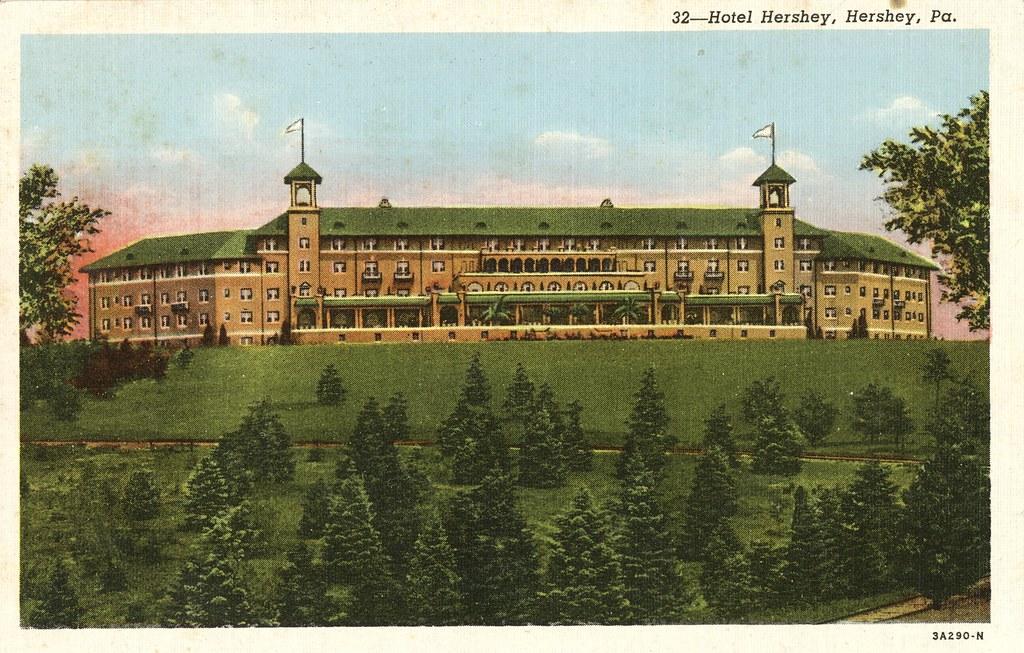Hotel Hershey - Hershey, Pennsylvania