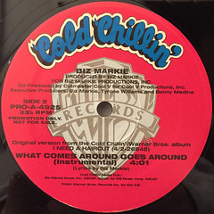 BIZ MARKIE:WHAT COMES AROUND GOES AROUND(LABEL SIDE-B)