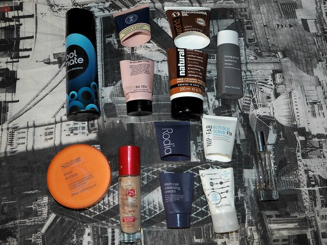 January Beauty Empties 1
