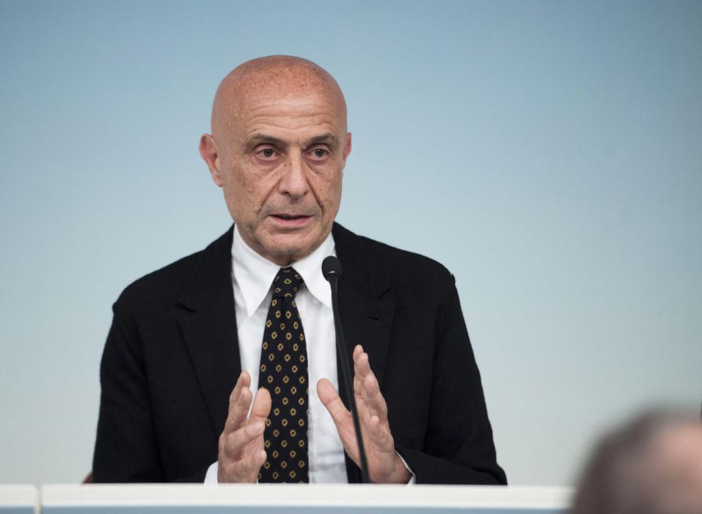 Il ministro degli interni in quota Partito Democratico, Marco Minniti