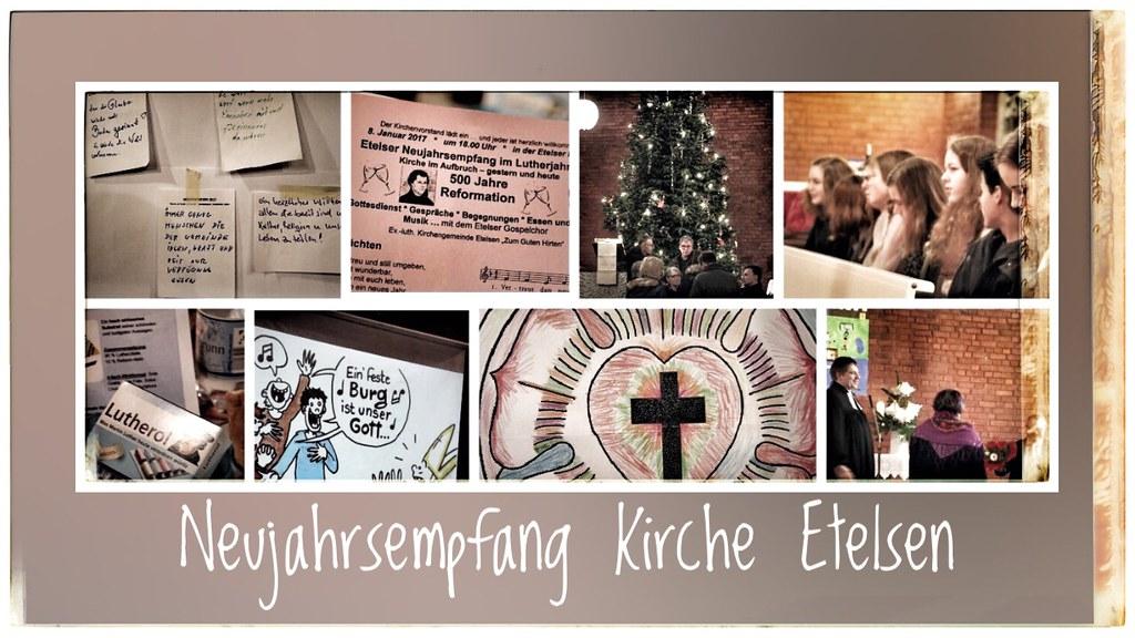 Neujahrsempfang Kirche Etelsen