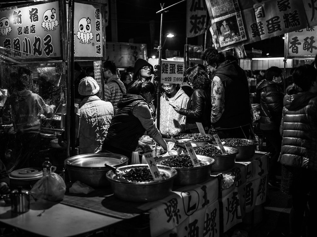 台南花園夜市(Pentax 645D)