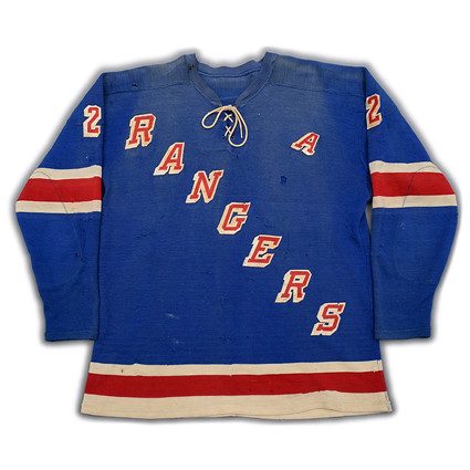 New York Rangers 1961-62 F jersey