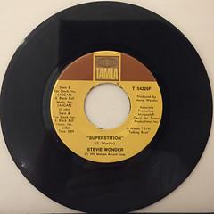 STEVIE WONDER:SUPERSTITION(RECORD SIDE-A)