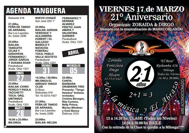 Revista Punto Tango 125 de Marzo 2017 - 15
