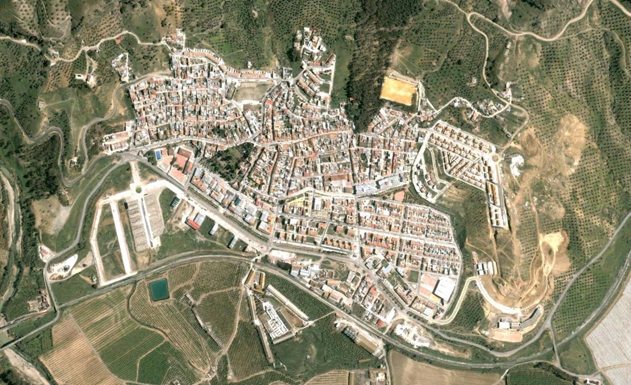 pizarra, málaga, pizarra gómez, antes, urbanismo, planeamiento, urbano, desastre, urbanístico, construcción