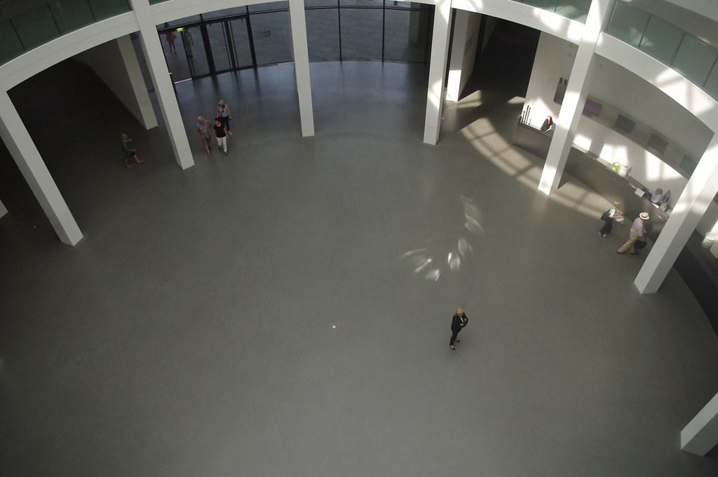 Hall D Entrée Moderne allemagne, bavière, munich : pinakothek der moderne, le ha