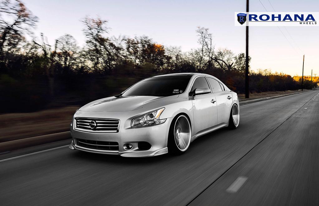 2015 Nissan Maxima >> Nissan Maxima - RC8 Machine Silver (9)   Rohana Wheels ...