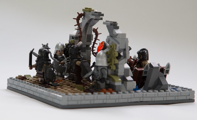 Lego Moc Of The Week The Lord Of The Rings Osgiliath By Nagol Of