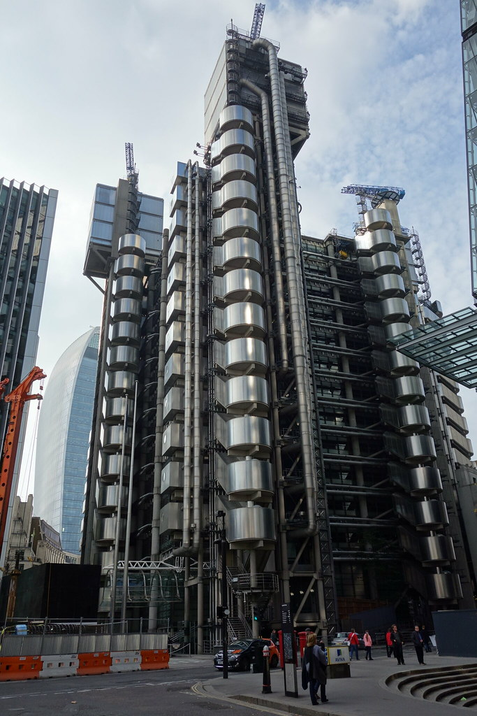Lloyds building high tech architecture evgenii flickr for Architecture high tech