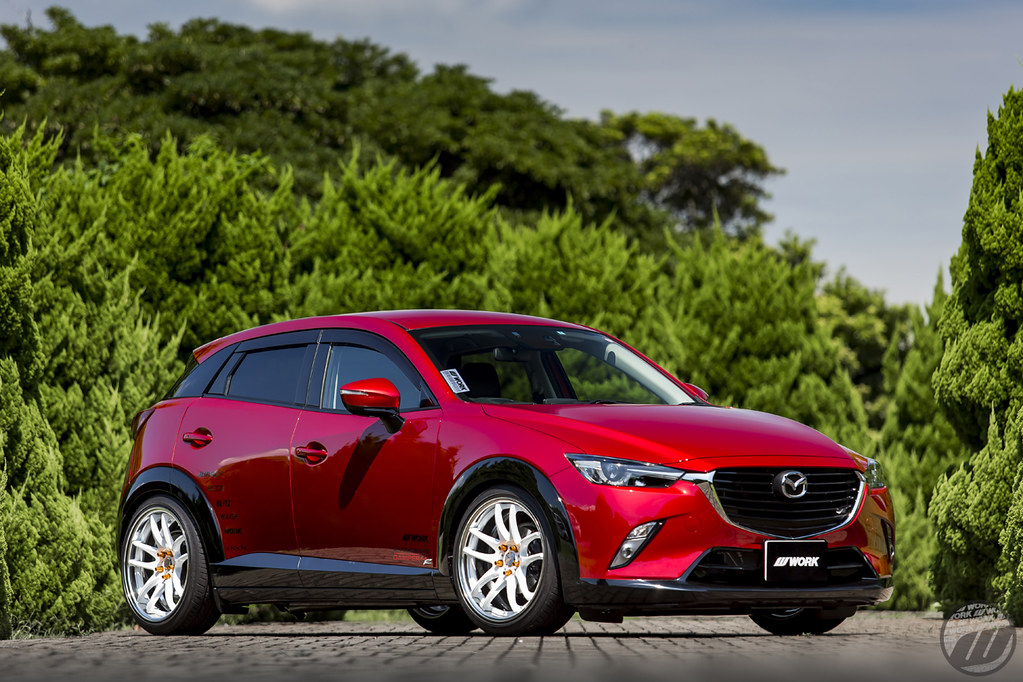 JUNACK <b>Mazda</b> CX3 on WORK Emotion CR2P | F:19x8.5J +35mm (A ...