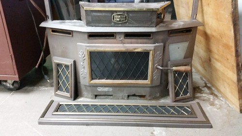 Country Comfort Wood Burning Stove Insert This Country