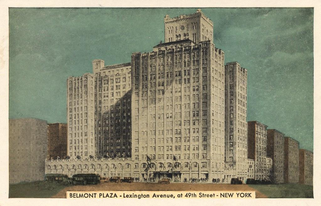 Hotel Belmont Plaza - New York, New York