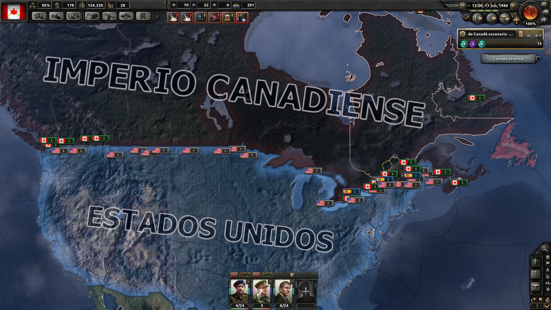 imperio canadiense