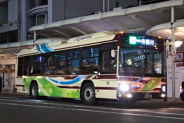2017/01/05 京都バス 135