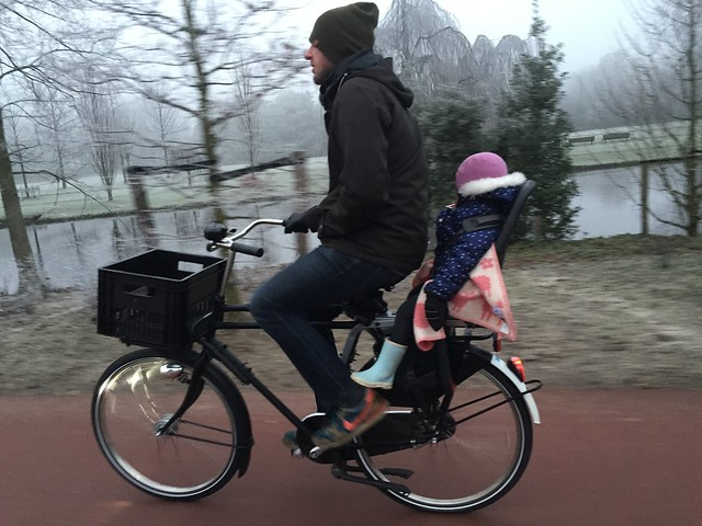 Why we cycle in the winter?