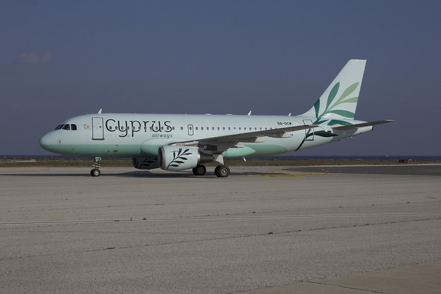 5B-DCW A319-114 Airbus Cyprus Airways