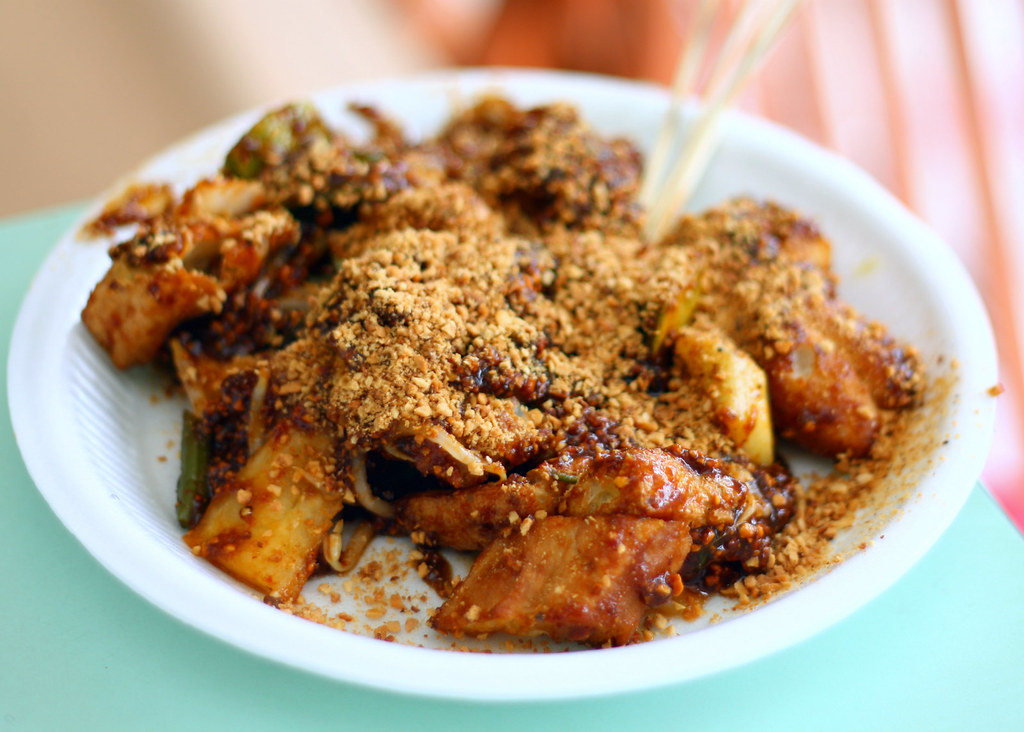 Hawker Centre in Singapore: Old Airport Road Food Centre Rojak