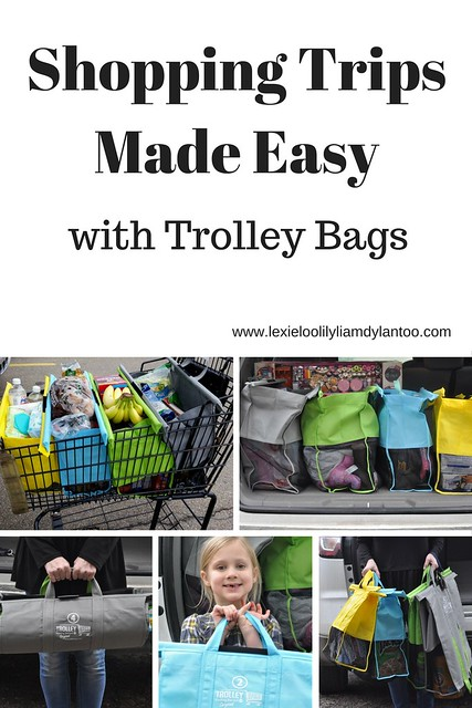 Shopping Trips Made Easy with Trolley Bags #sponsored #TrolleyBags
