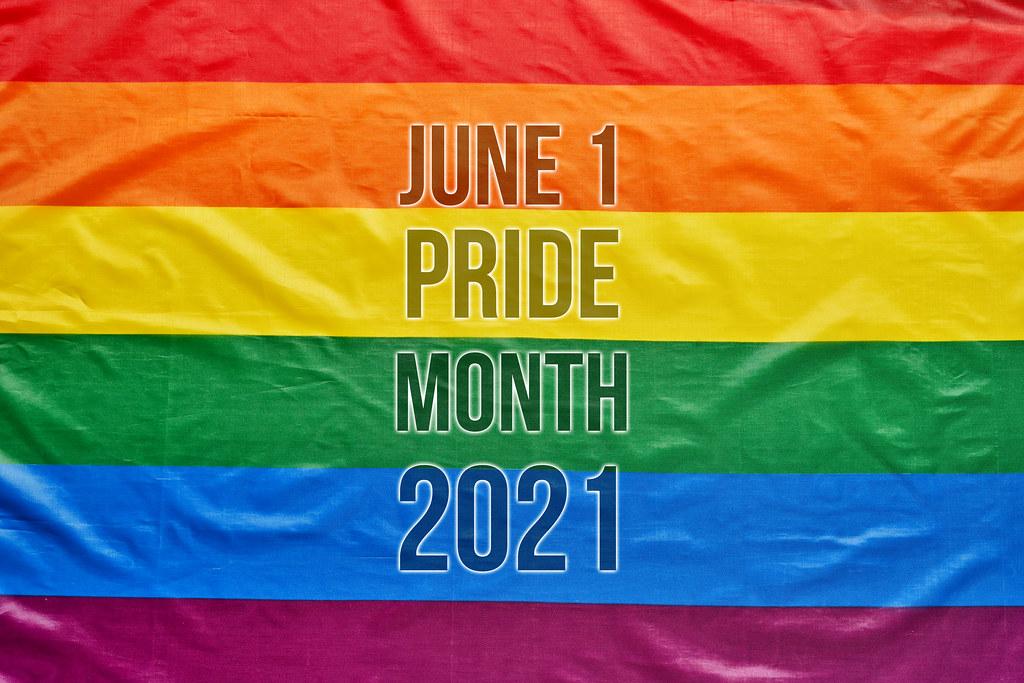 June 1 - Pride month 2021 - Creative Commons Bilder