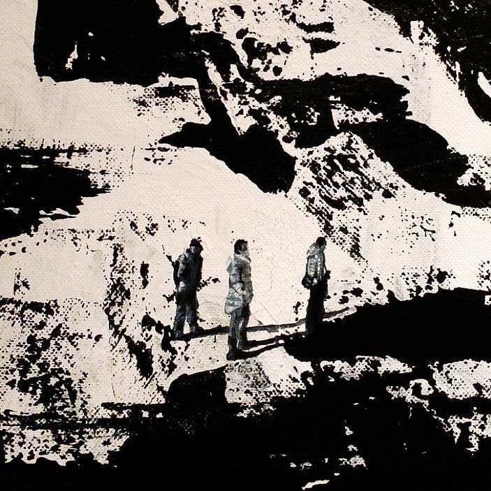 Art Artist Painting Blackandwhite