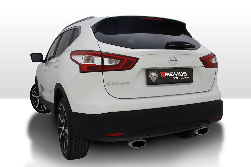 nissan qashqai j11 with remus sport exhaust remus. Black Bedroom Furniture Sets. Home Design Ideas