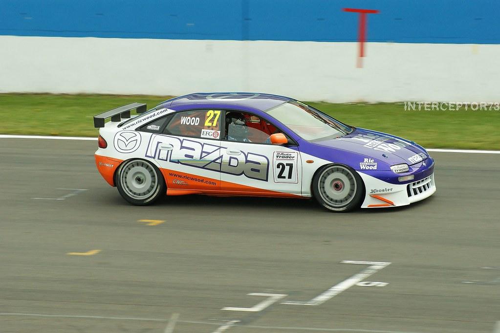 Ric Wood Mazda 323f Historic Super Touring Car Champions Flickr
