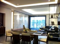 知築藏樂Ⅱ-二樓客餐廳實景照