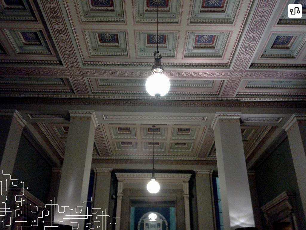 Com tanta coisa pra ver no Museu Britânico, eu nao consegui parar de olhar pro teto e pensar: eu to aqui mesmo?