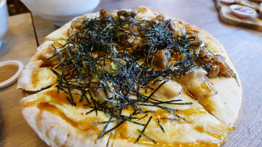 Teriyaki Pizza ($15) from Cin.qo Tapas.