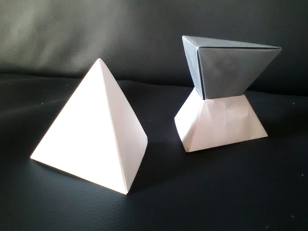 Tetrahedron and intersecting tetrahedra