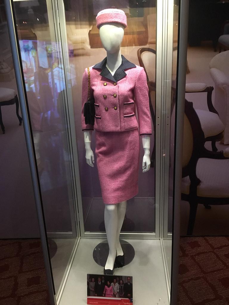 Pink Jackie Kennedy Blood Dress - 0425