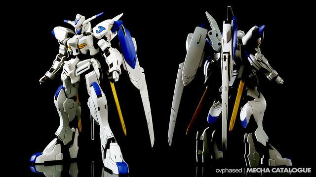HG IBO Gundam Bael - Colored Prototype Shots