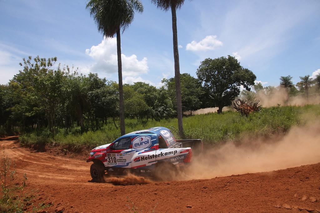 Laatste test als begin van Dakar 2017 voor Erik van Loon