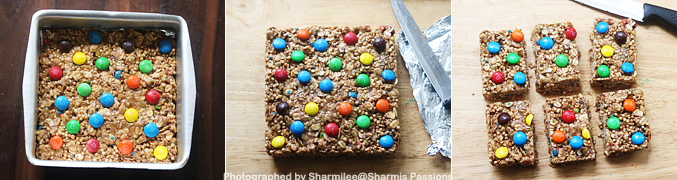 How to make M and M Granola Bars - Step8