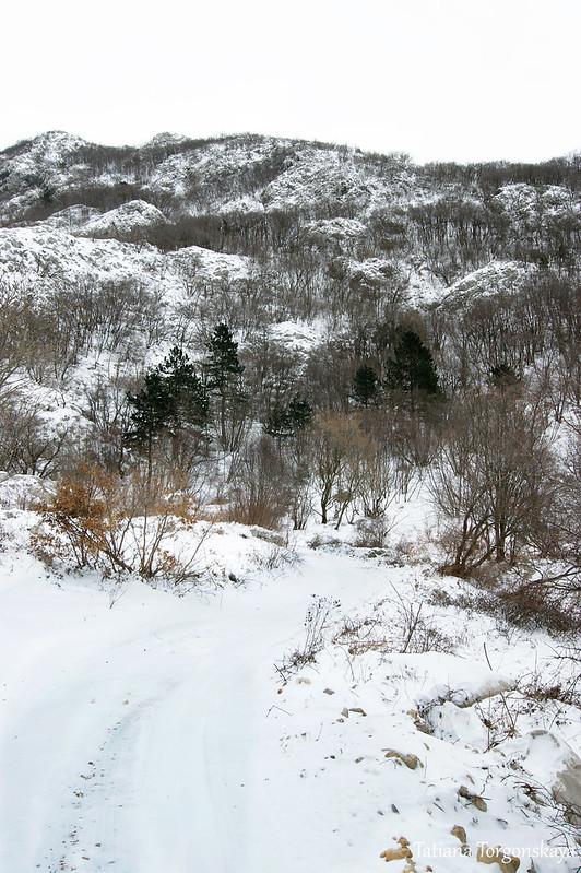 Путь к  перевалу Вратло