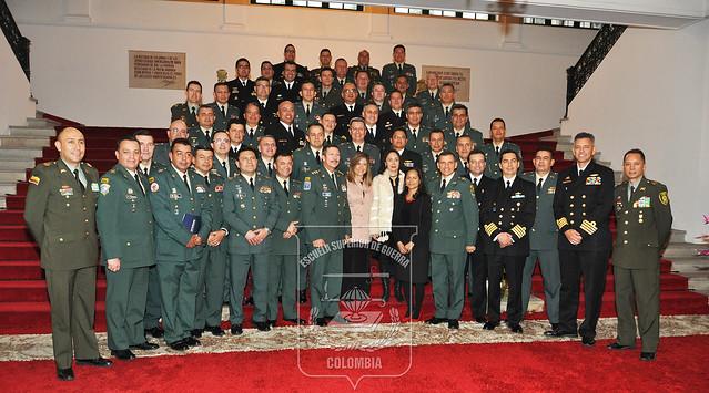En la Academia Diplomática, culmina Curso de Agregados Militares