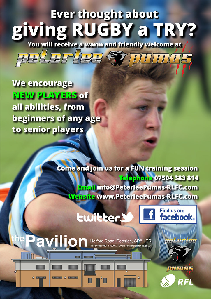 PETERLEE RUGBY ON THE RISE