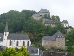 Kirche und Burg von Blankenheim