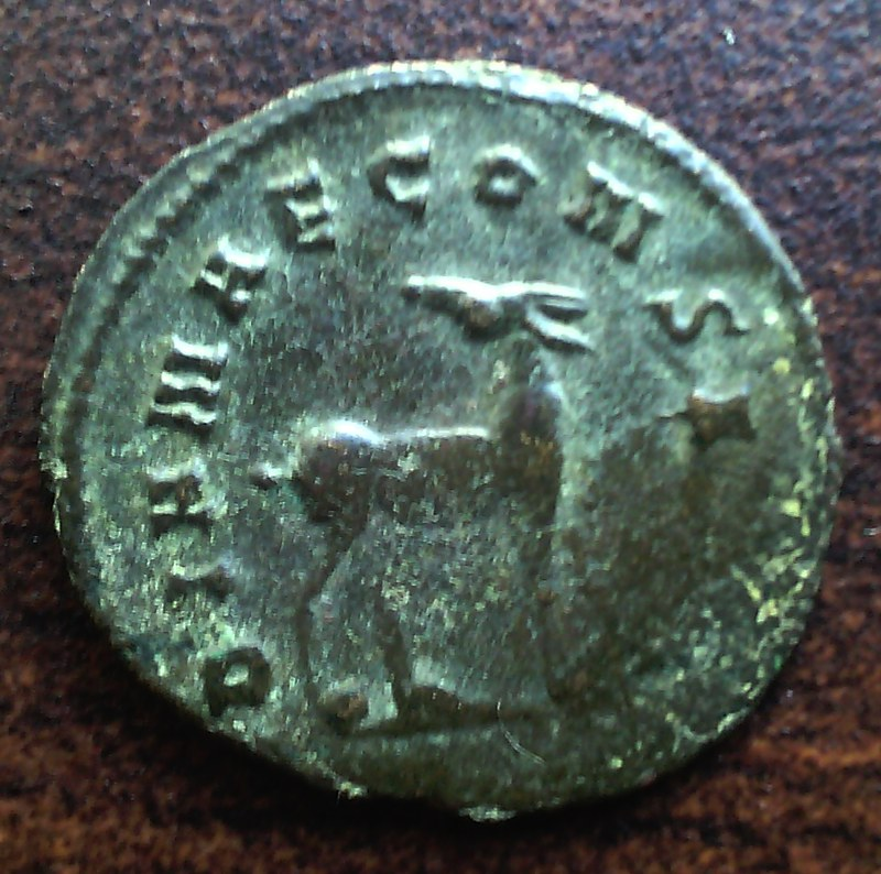 Antoniniano de Galieno. DIANAE CONS AVG. Roma 22367912216_9a920584ff_c