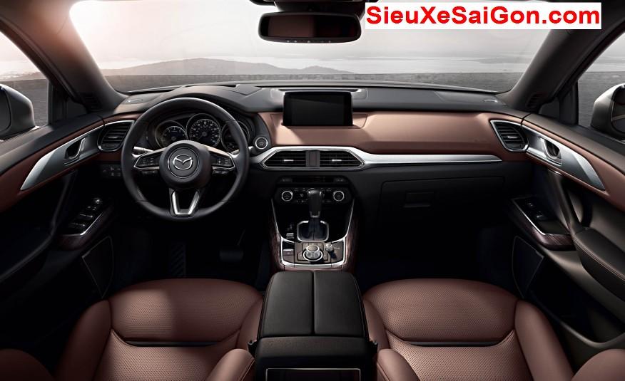 Nội thất Mazda CX9